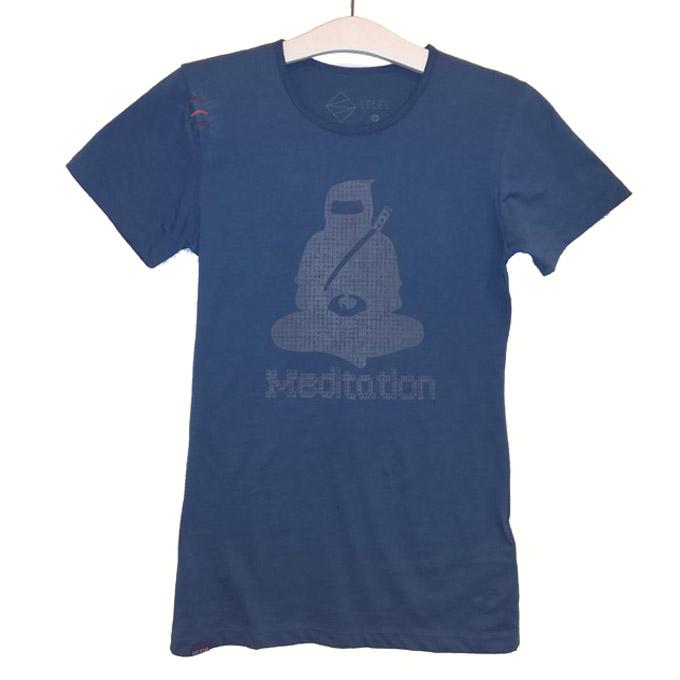 プラクティスTシャツ【MEDITATION】の画像