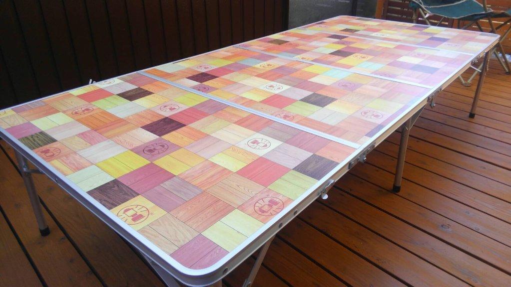 コールマン テーブル(大)の画像