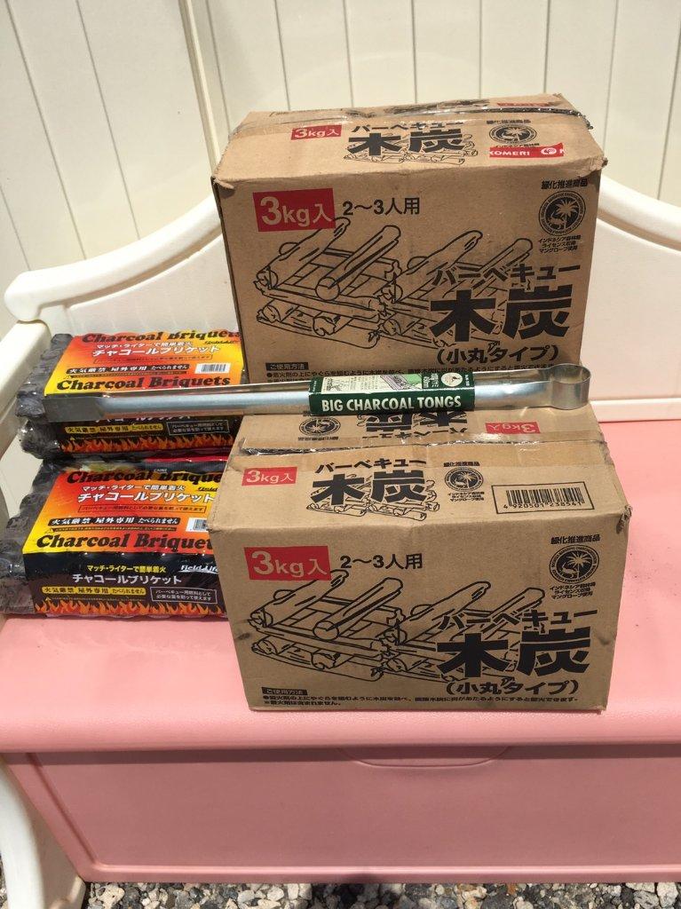 木炭 6㎏(木津川店)の画像