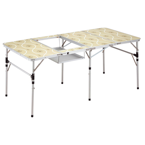 コールマンのスリム四折BBQテーブル画像