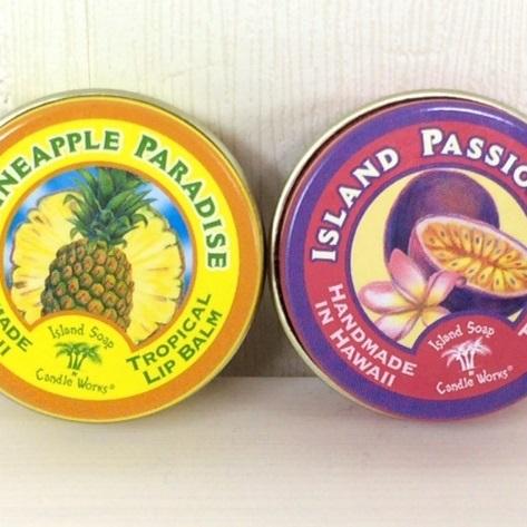 Island Soapリップバーム*2種類の香りの画像