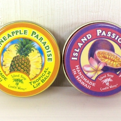 Island Soapリップバーム*2種類の香り画像