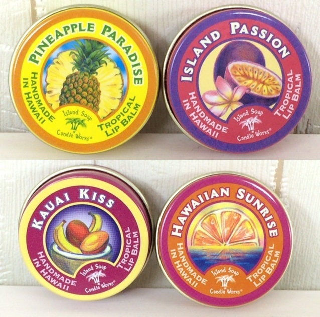 Island Soapリップバーム*4種類の香りの画像