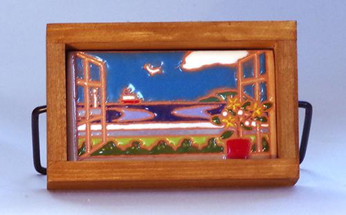 小さな窓「海」画像