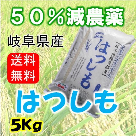 ハツシモ 玄米5Kgの画像