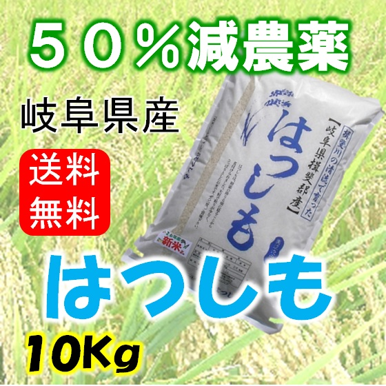 ハツシモ 白米10Kg(分搗き可)の画像