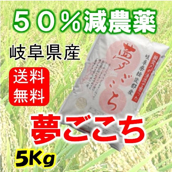 夢ごこち 玄米5Kgの画像