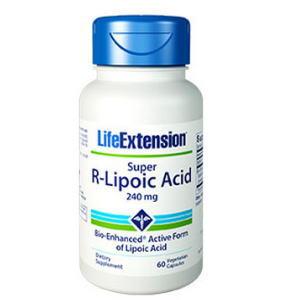 スーパーアールリポ酸は短時間でαリポ酸の数十倍の血中濃度になります 240mgの画像