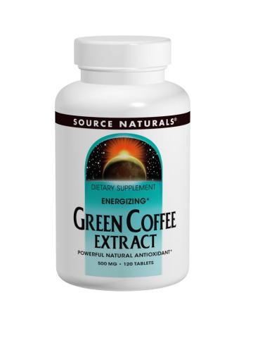 グリーンコーヒーエキス・エナザイズ500mg 60タブレットの画像