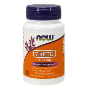7-KETO 100mg  植物性カプセル DHEA代謝物質  ナウフーズ社製の画像