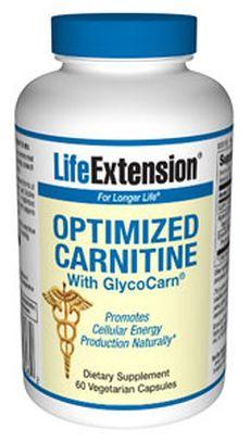 GPLC-Glycocarn-で最適化されたカルニチン 60カプセル ライフエクステンション画像