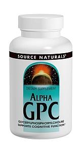 アルファGPC Alpha GPC  60 カプセル USA ソースナチュラルズ社製 画像