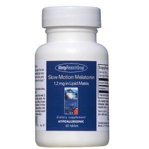 メラトニン 1.2mg 【徐放性 60タブレット】 アレルギーリサーチグループ社製の画像