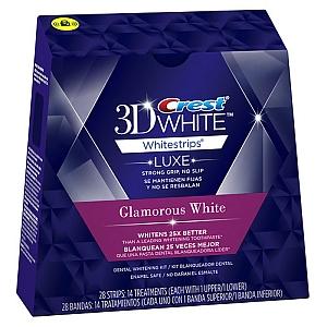 白い歯のためのクレスト3Dホワイトアドバンスド・ビビッド(28枚) Crest 3D White Advanced Vivid Whitestrips  (28 total strips)画像