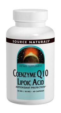 Coenzyme Q10/Lipoic Acid   30/30 mg 60カプセルの画像