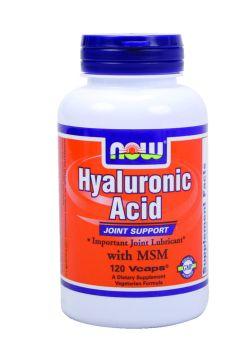 ヒアルロン酸とMSM 関節の潤滑剤  120カプセルの画像