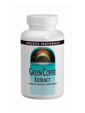 グリーンコーヒーエキス500mg (カフェイン少な目) 120タブレットの画像