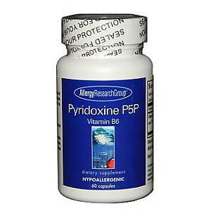 ピリドキサールリン酸 ビタミンB6の活性型 60カプセル ARG画像