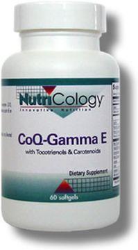 トコトリエノール ガンマビタミンE CQ10 カルチノイドを含む60ソフトジェルの画像