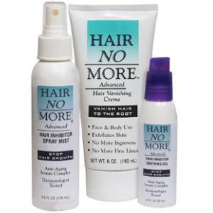 ヘアノーモアーキットはパワフルな脱毛とムダ毛抑制システムです。の画像