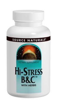 ストレス対応サプリメント ハイストレスB&C 60タブレットの画像
