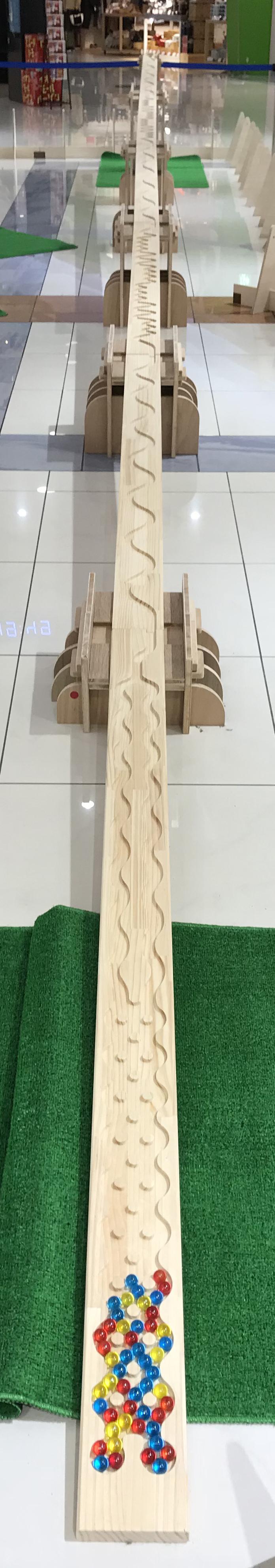 【レンタル専用】 Long SlowP 12m Set 直線&六角形兼用(パイン集成材)画像