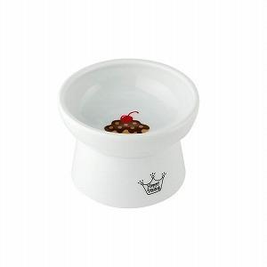 猫壱 ハッピーダイニング 脚付フードボウル カップケーキ柄の画像