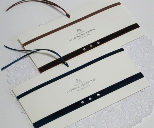 ベルベット&クリスタル【手作り】席次表セット画像