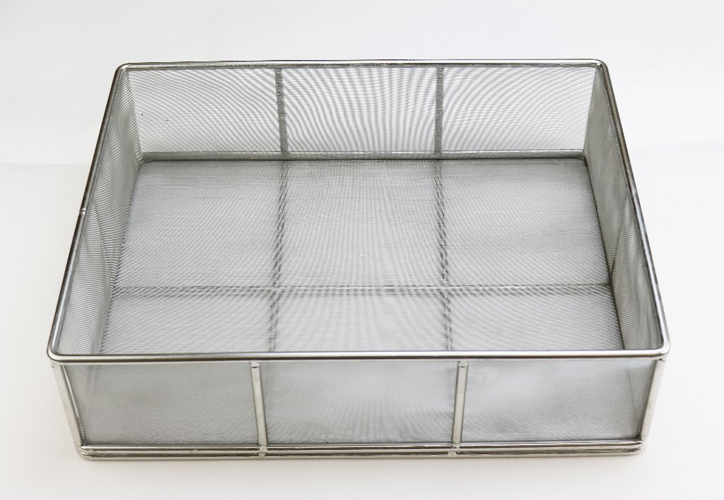 ステンレス製揚げ物カゴ(OEM製品)の画像