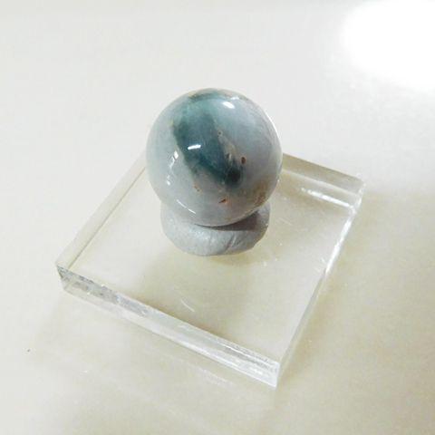 糸魚川産翡翠13mmビーズ6の画像