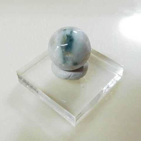 糸魚川産翡翠13mmビーズ7の画像