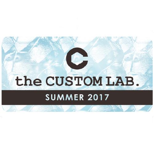 ステッカー the CUSTOM LAB. 2017 SUMMER Ver.【数量限定】画像