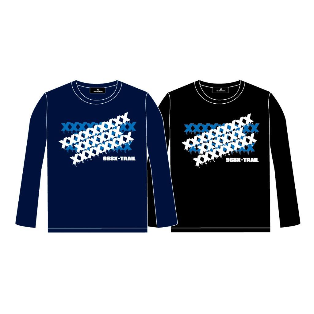 968 X-TRAIL ロングスリーブTシャツ XXXXXX/ネイビーの画像