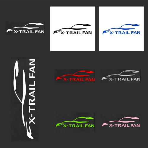 X-TRAIL FAN ステッカーの画像