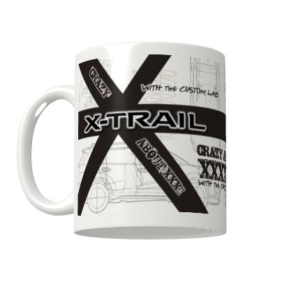 カスタムラボ オリジナルマグカップ(X-TRAIL Diagram)の画像