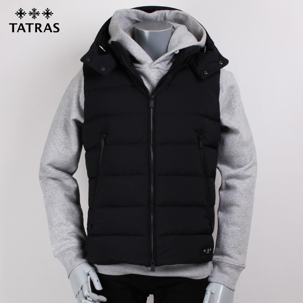 TATRAS タトラス  ブラック ダウンベスト CURONE MTA19A4565の画像