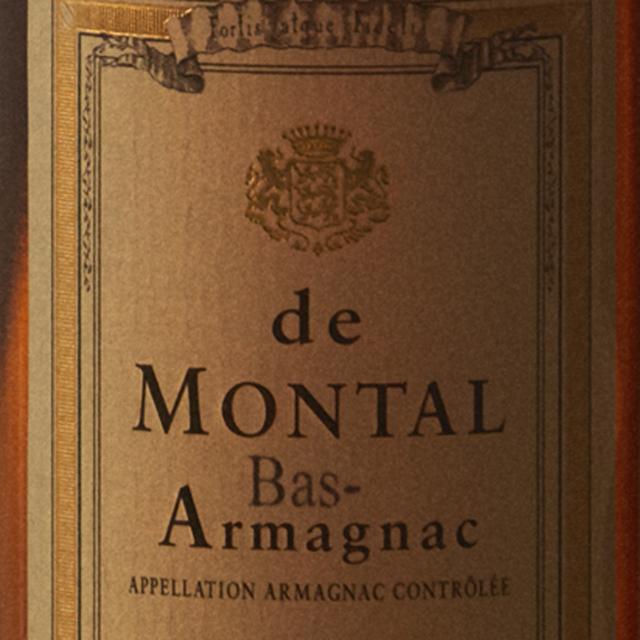 アルマニャック・ド・モンタル 2003年 200mlの画像