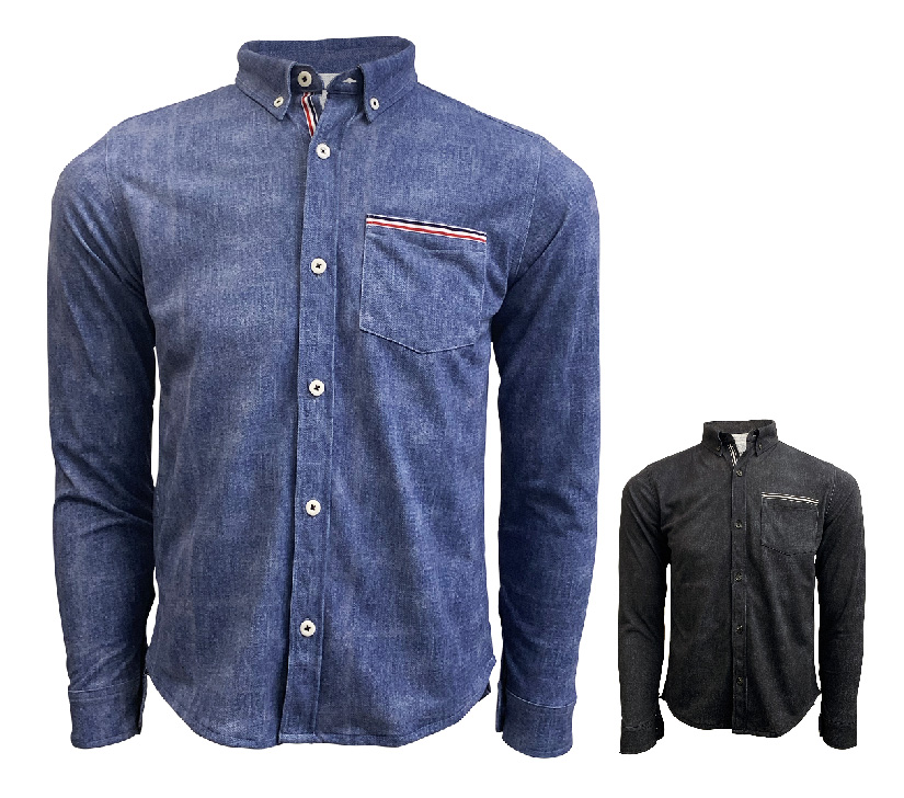 indigo(インディゴ)ポケシャツ画像