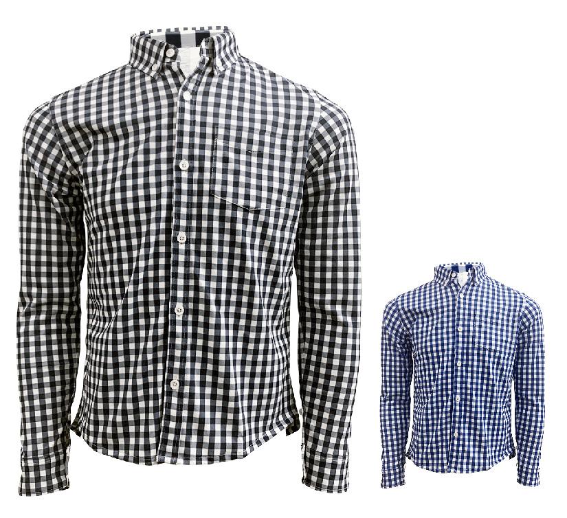 Gingham(ギンガム)ポケシャツ画像