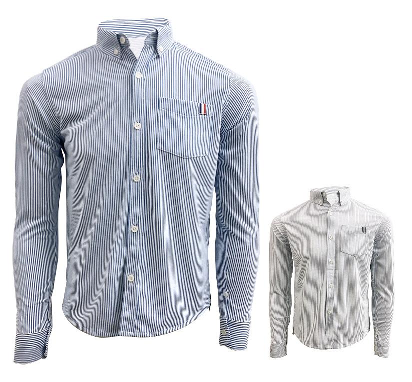 London stripe(ロンドンストライプ)ポケシャツ画像