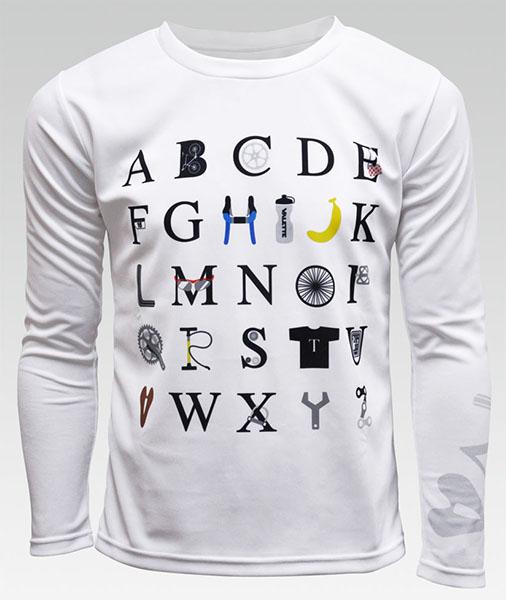 ALPHABET (アルファベット) ポケT(長袖)の画像