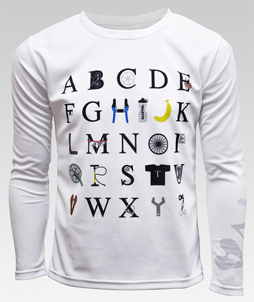 ALPHABET (アルファベット) ポケT(長袖)画像