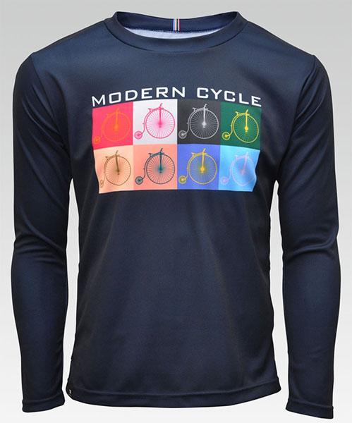 modan cycle (モダンサイクル)? ポケT(長袖)の画像