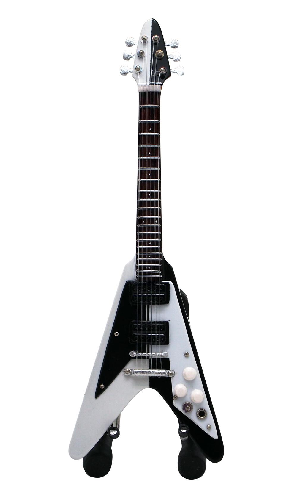 15cm  ミニチュア ギター マイケル シェンカー 1975 フライング V スタイル画像