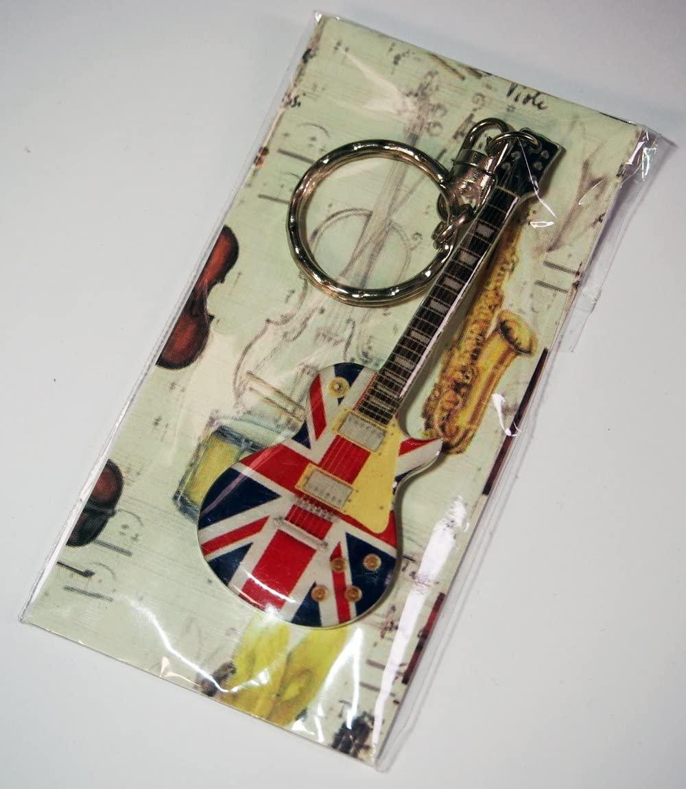 キーホルダー イギリス 国旗 レスポール 風 画像