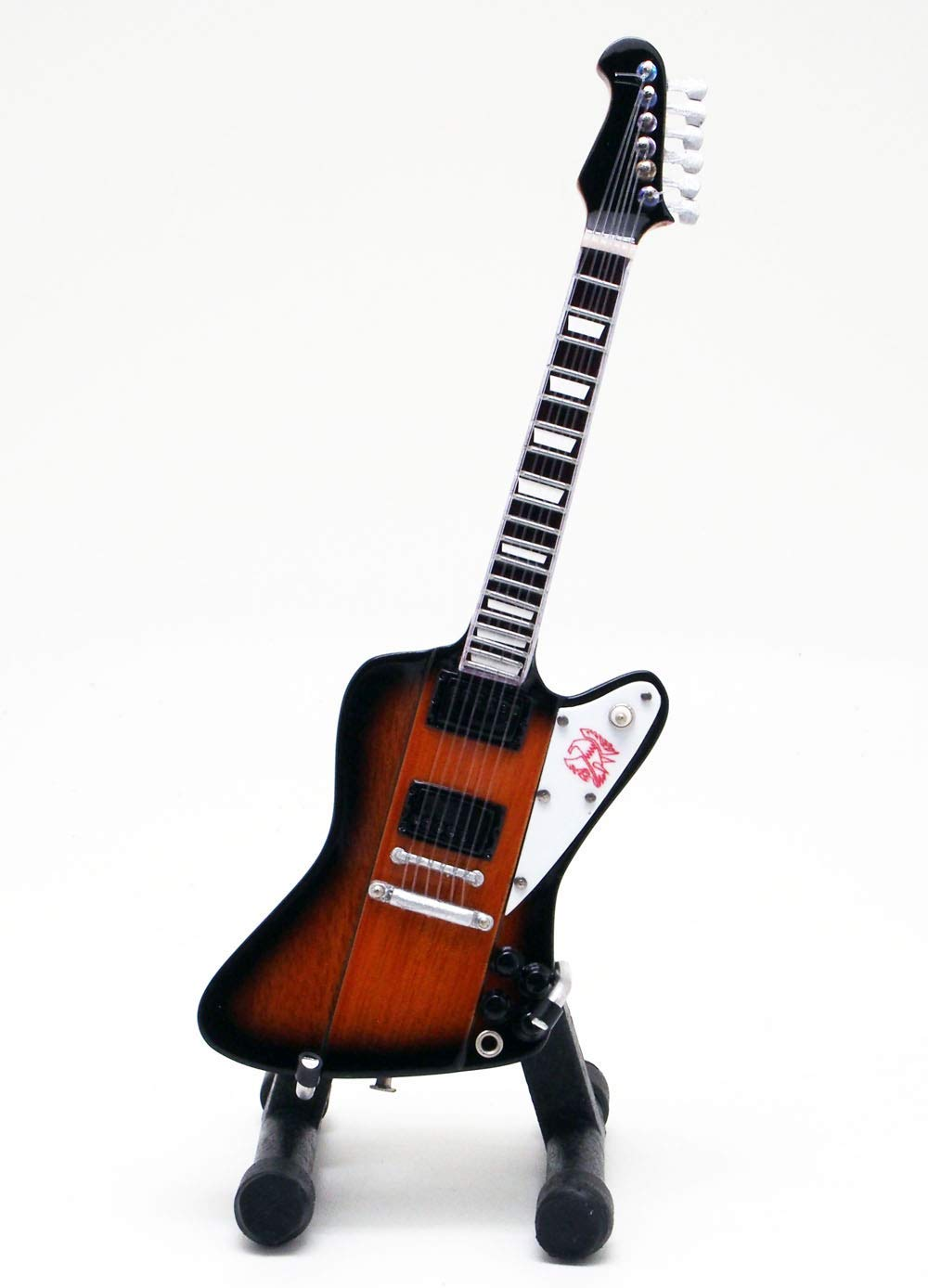15cm ミニチュア ギター フィギュア ファイヤーバード スタイル画像