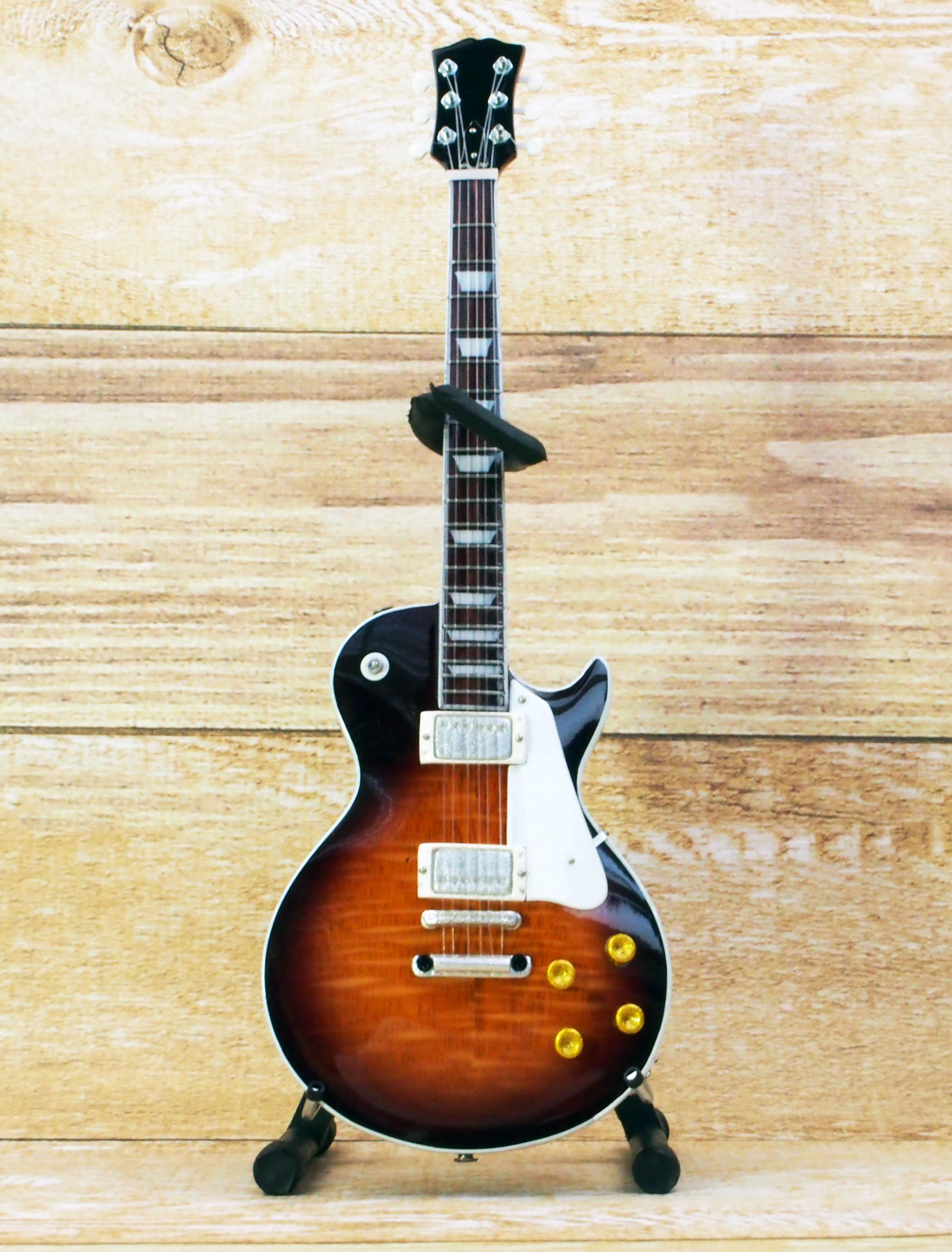 Musical Story ミニチュア ギター フィギュア USA 50's TOBACO バースト レスポール スタイル画像