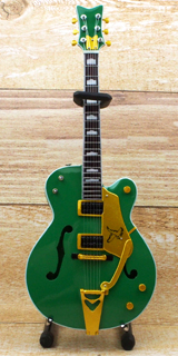 Musical Story 1/4 ミニチュア 楽器 ギター グレッチ GRETSCH グリーン