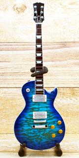 Musical Story 1/4 ミニチュア ギター レスポール ブルー
