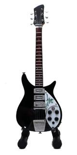 15cm ミニチュア ギター フィギュア ビートルズ ジョン レノン リッケンバッカー